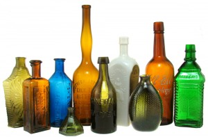 old bottles in American Bottle Auction #48